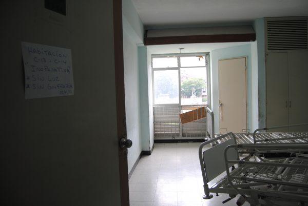 Hospital de Los Magallanes de Catia tiene habitaciones inhabilitadas