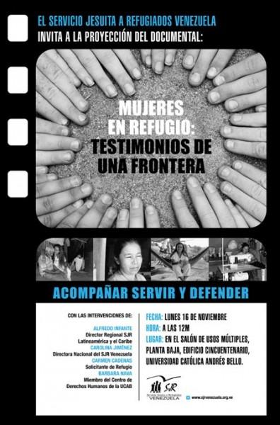 El SJR presentará las experiencias del refugio desde una visión de Género